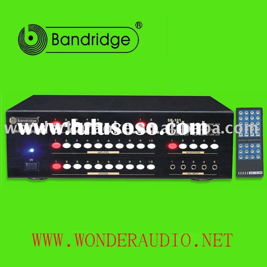 Audio equipment / Karaoke system contrast Testing Selector, Full function REMOTE CONTROL