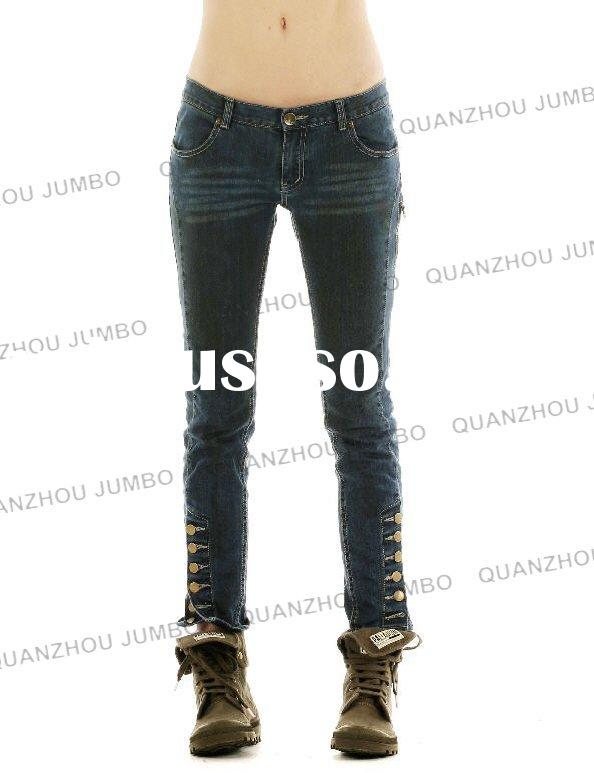 Best Selling of Lady Fashion Jeans Pants