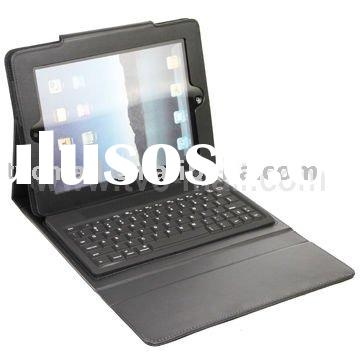Brand New For iPad 2 Leather Case with Bluetooth Keyboard