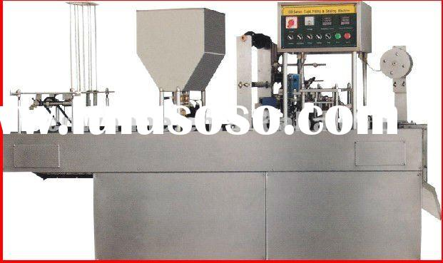 CD-20 Series Automatic Cup Filling and Sealing Machinery