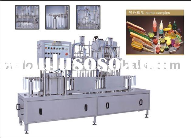 CFR ICE Lolly Tube Automatic Filling Sealing Machine
