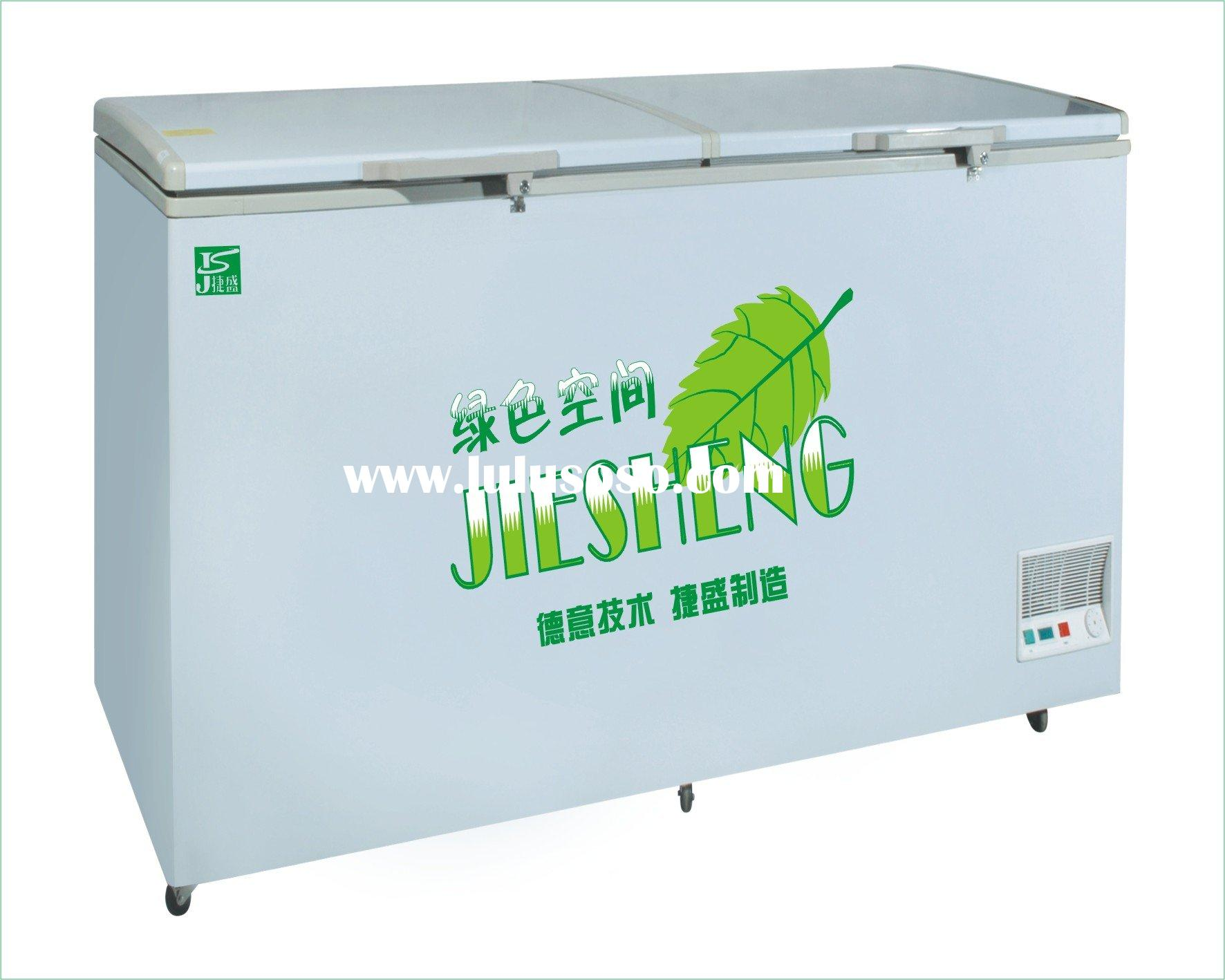 large capacity single temperature chest deep freezer for sal