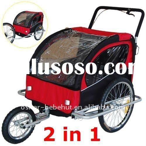 Child Bike Trailer&Jogger and Baby Bike Trailer&Stroller