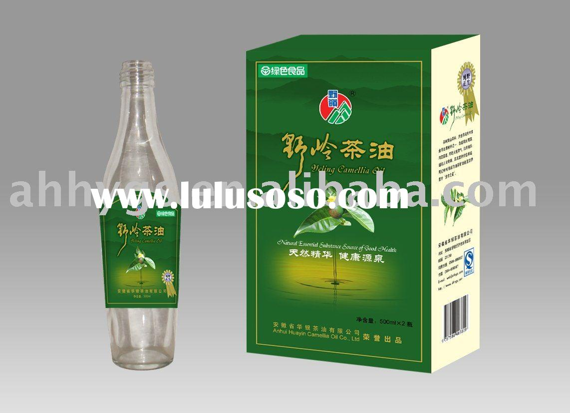 Chinese Pure Health high quality press Green tea seed Oil