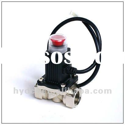 Emergency shut-off valve for gas system
