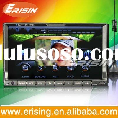 "Erisin 7"" Touch Screen Car 2 Din DVD GPS Nav 128MB DVB-T USB/SD 8G"