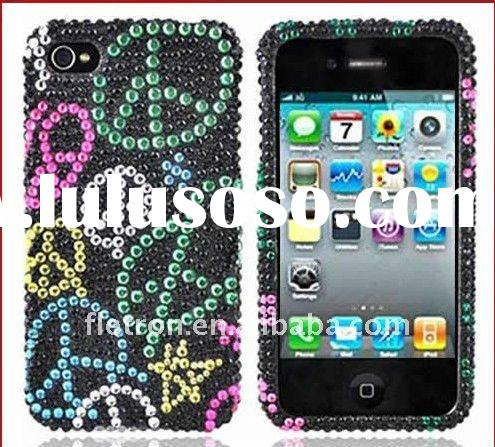 FOR Apple iPhone 4S 4 Bling Hard Case Cover Accessory