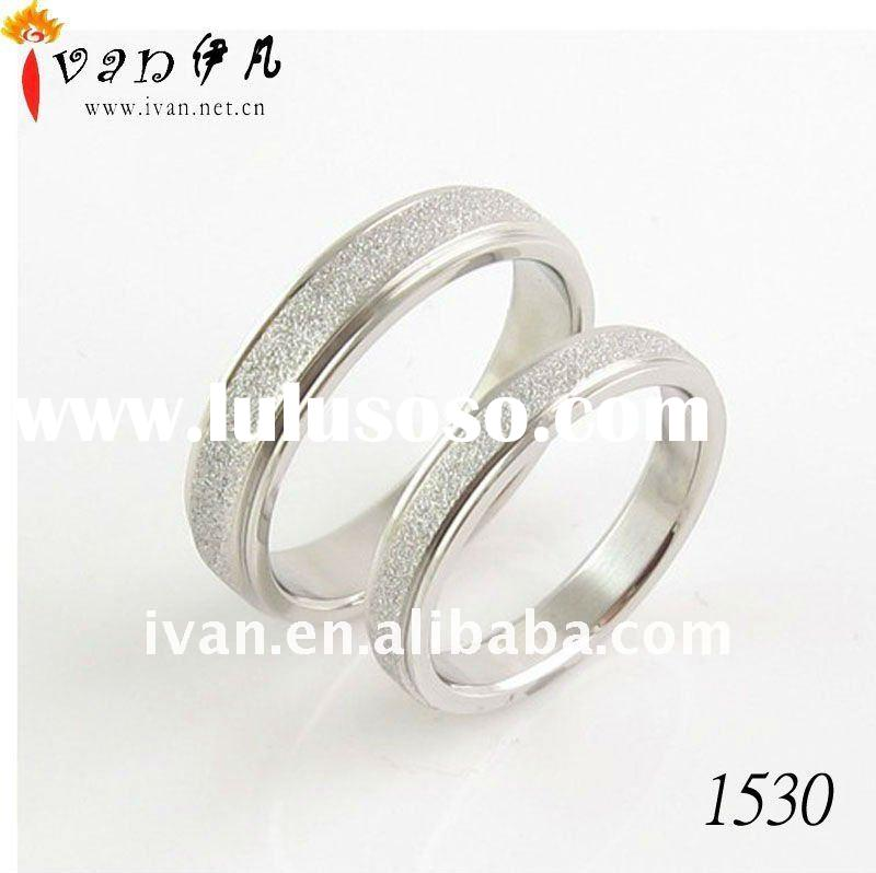 Fashion Cheap Sliver Couple Rings