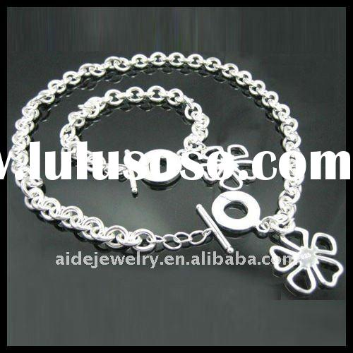 Fashion Silver jewelry set on hot sale AS116