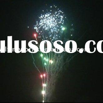 Fireworks and Firecrackers 100 Shots red green moving star white strobe