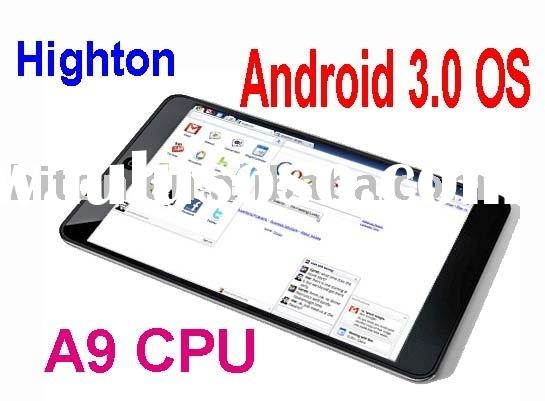 First android 3.0 tablet computer,android 3.0 tablet
