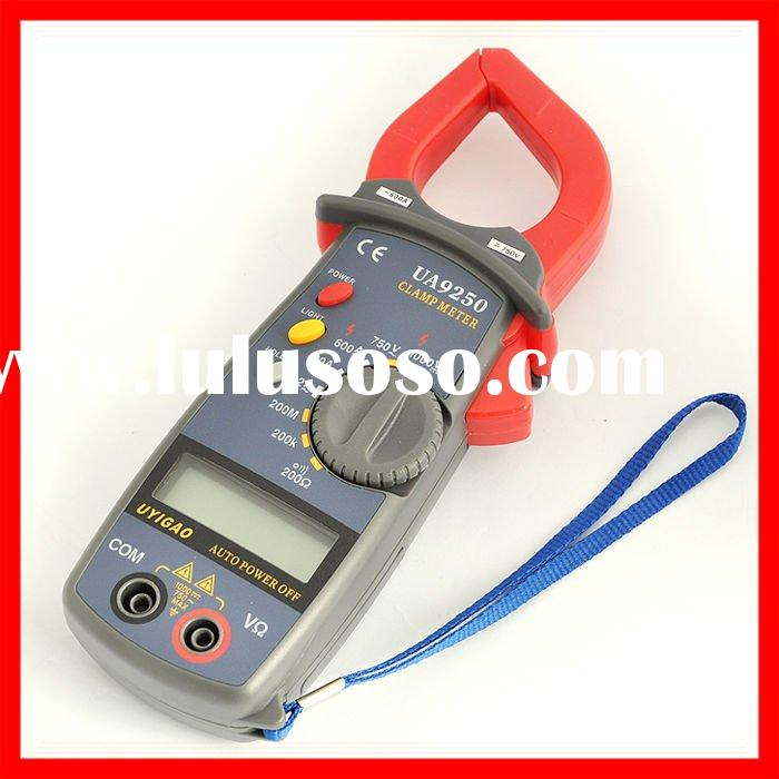 Free Shipping Digital Electronic Clamp Multimeter LCD Tester AC / DC Wholesale [ECA20]