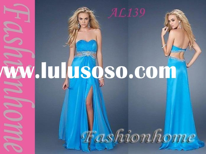 Free shipping Evening dress, Strapless formal party dress, Lady maternity dress AL139