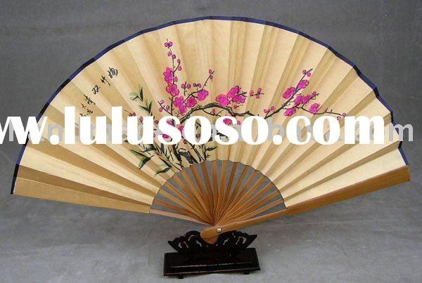 Free shipping delicate chinese paper fan