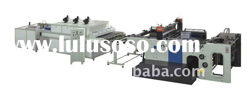 Full Automatic Cylinder Screen Printing Machine