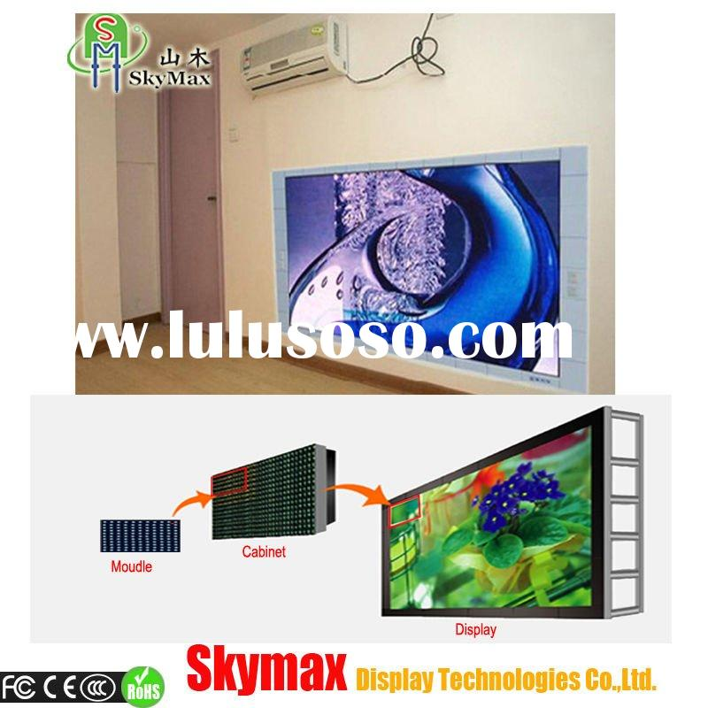 Full color indoor led video screen