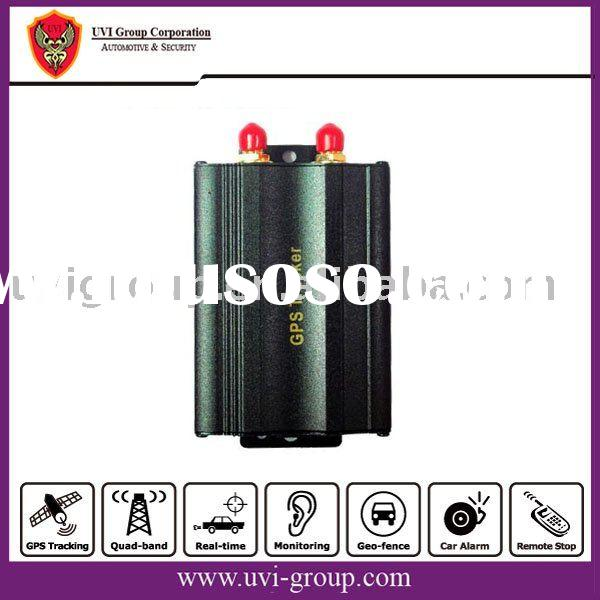 GPS Car Tracker and alarm system with remotes/key-fobs and Siren