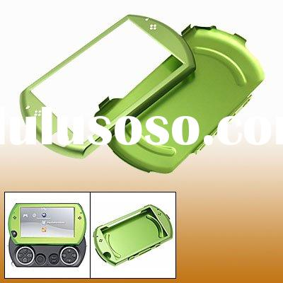 Gaming console game accessoire psp go Green Hard Aluminium Case Cover Shell for PSP Go
