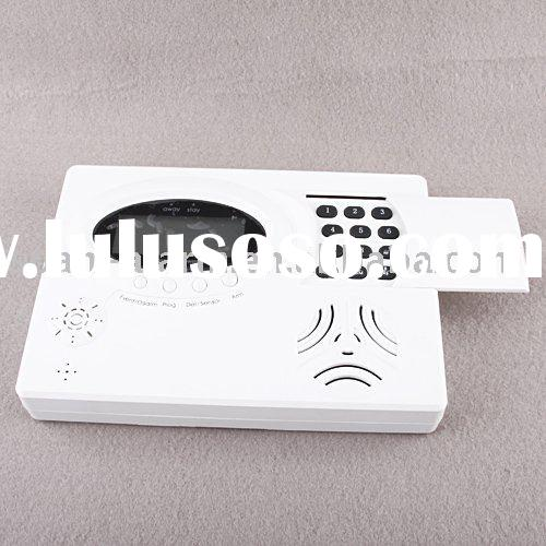 HOT on sale GSM/PSTN auto dialing text message voice record landline alarm gsm alarm for home alarm