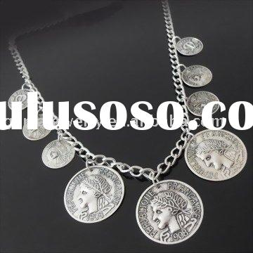 Hot Sale Fashion Jewelry with Coin Charms