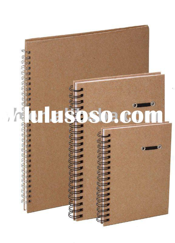 Hot sale recycled spiral notebook