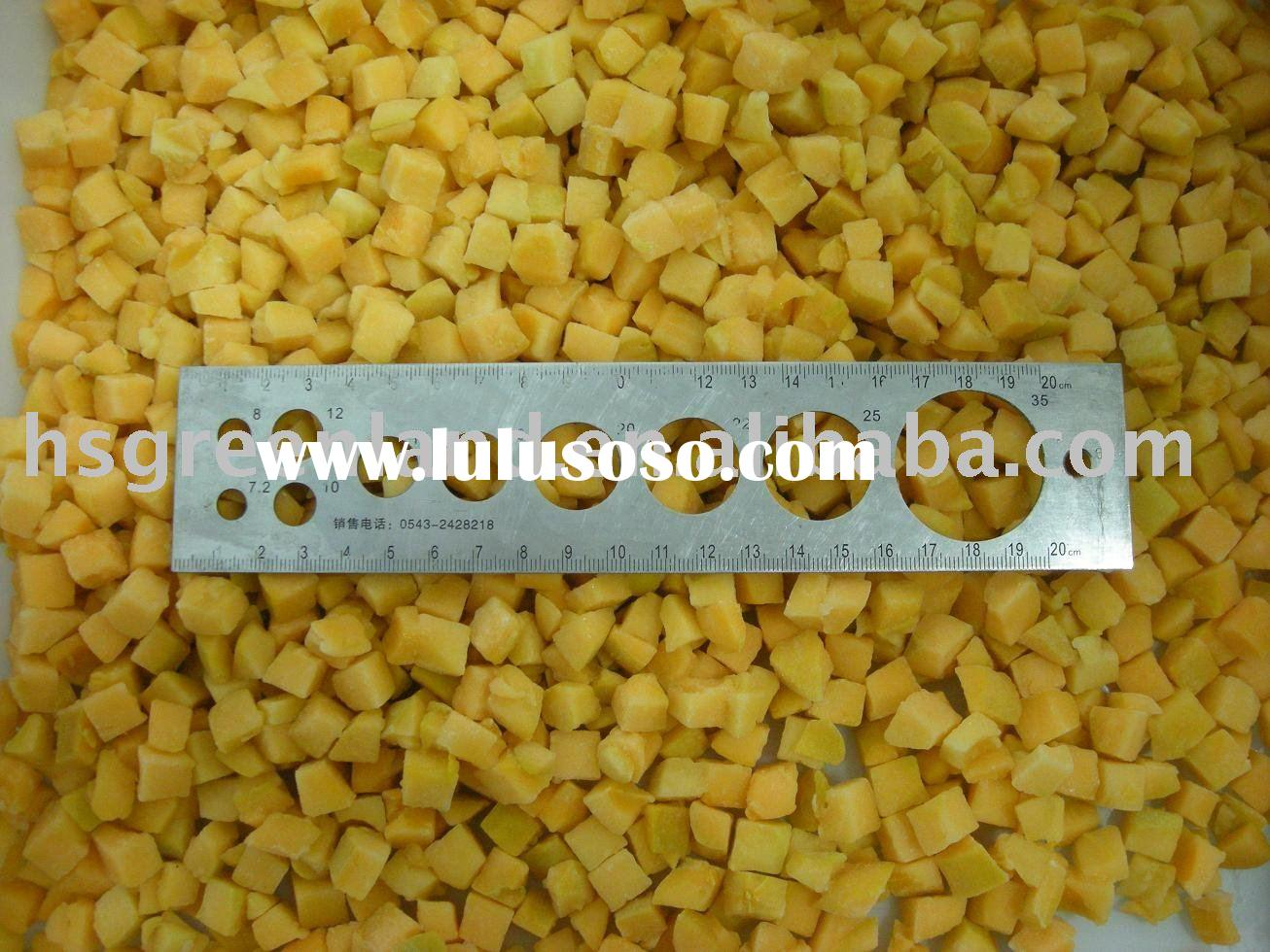 IQF Apricot Dices