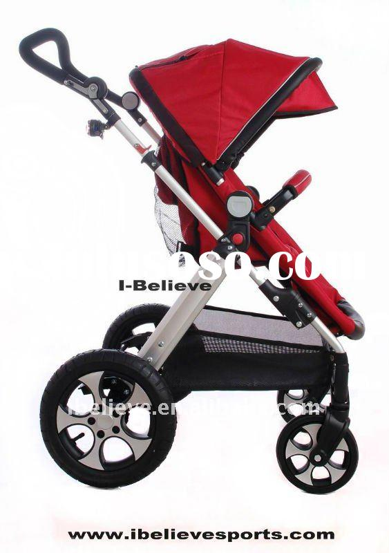 I-S021 Hot Design Air-input Wheels (Carry Cot) Baby Stroller Jogger