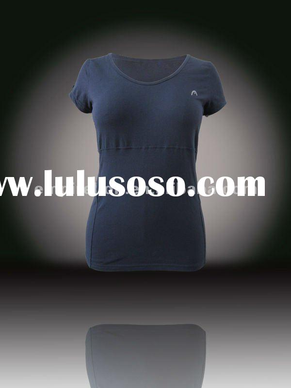 Ladies puff sleeve tshirt