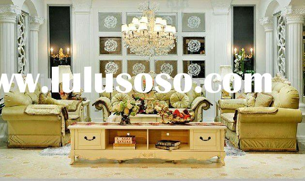 Luxury French country style living room furniture B49082