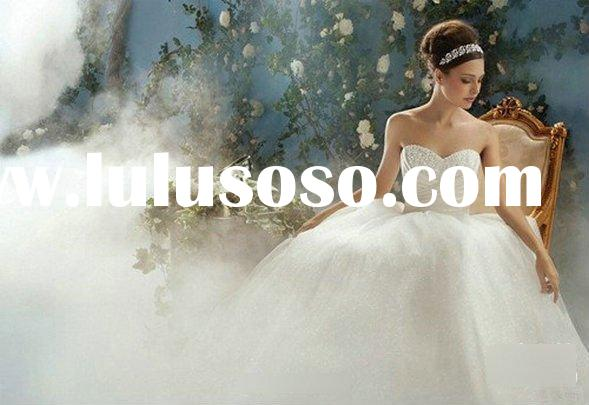 Most beautiful princess cinderella wedding dress PRI-1