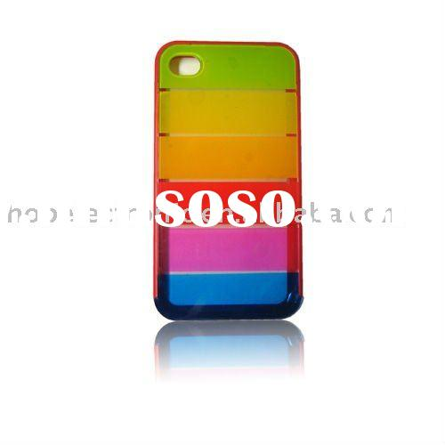 New plastic mobile phone case for iPhone 4G 4GS