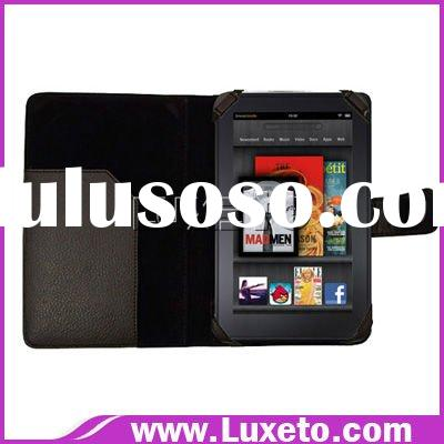 Newest fashion leather case for kindle fire Tablet
