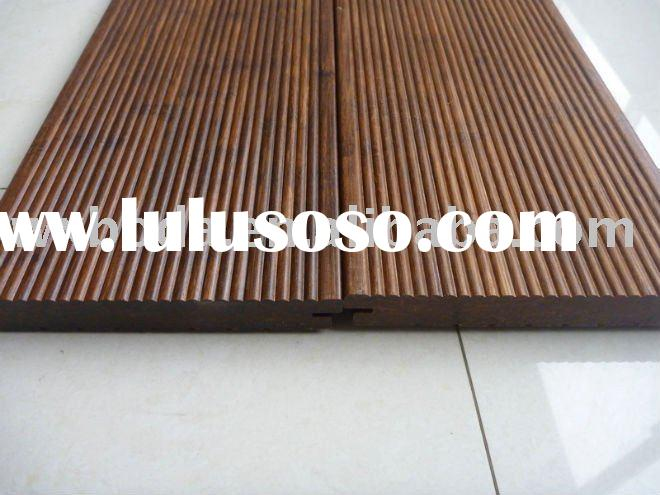 Outdoor Strand Woven Decking .