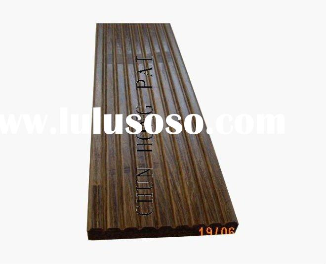 Outdoor decking strand woven bamboo flooring