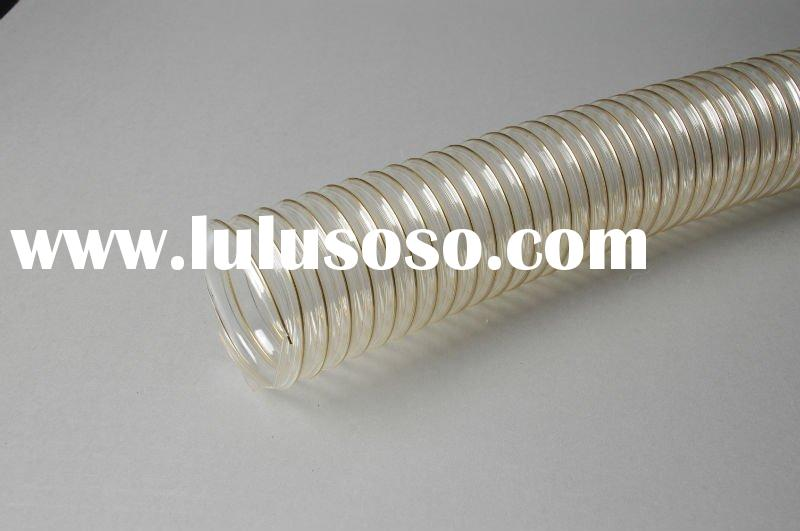 PU air hose,PU/TPU ducting,PU air ducting flexible hose,PU plastic hose in vacuum cleaner with reinf