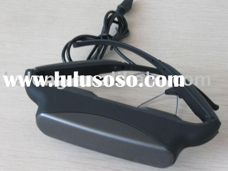 Personal Eyewear Cinema, 80 inch virtual screen Video Glasses, Perfectly Work with game console