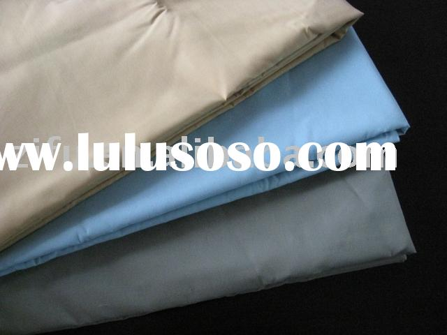 Plain Dyed Cotton Polyester Twill Fabric