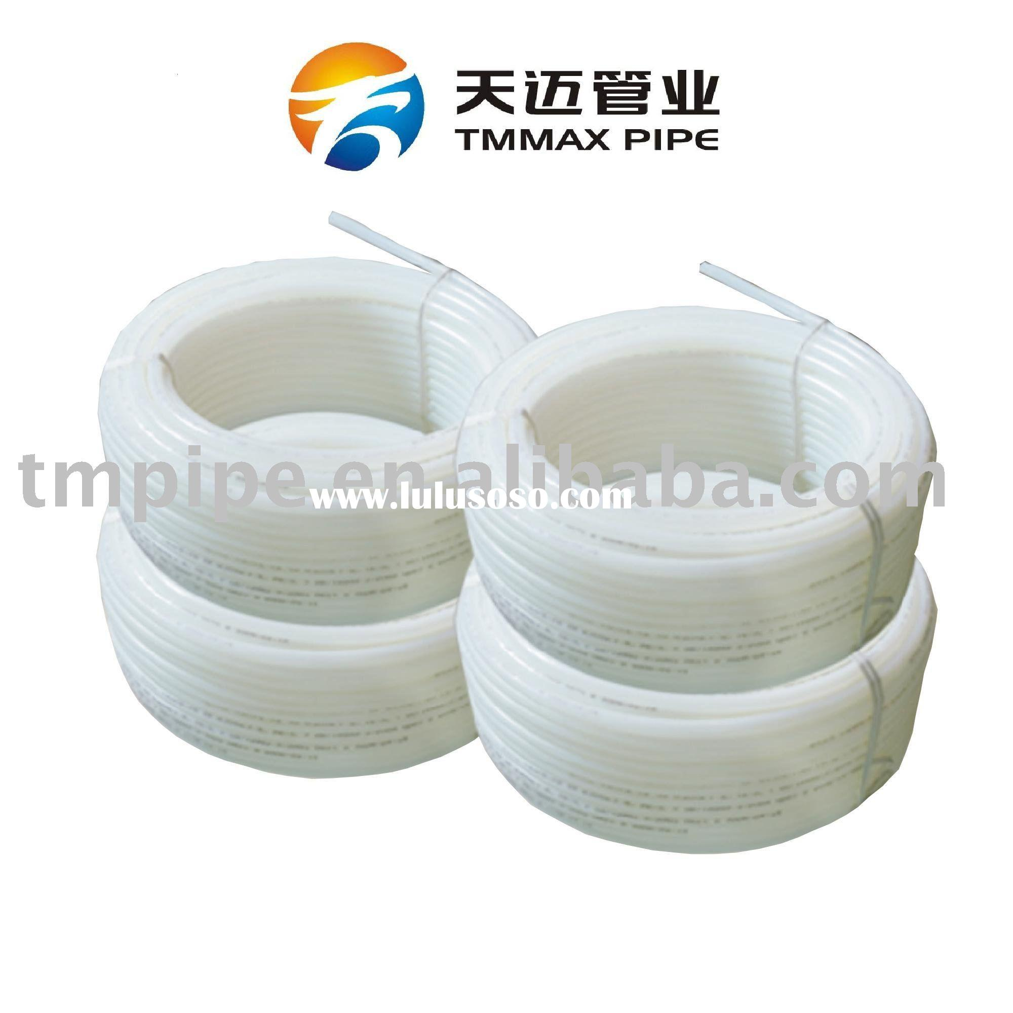 Polyethylene Of Raised Temperature Resistance Pipes For Floor Radiant Heating