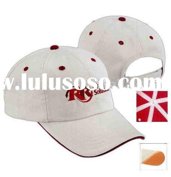 Promotion Brushed Cotton Twill Baseball Caps with Customer Embroidery logo