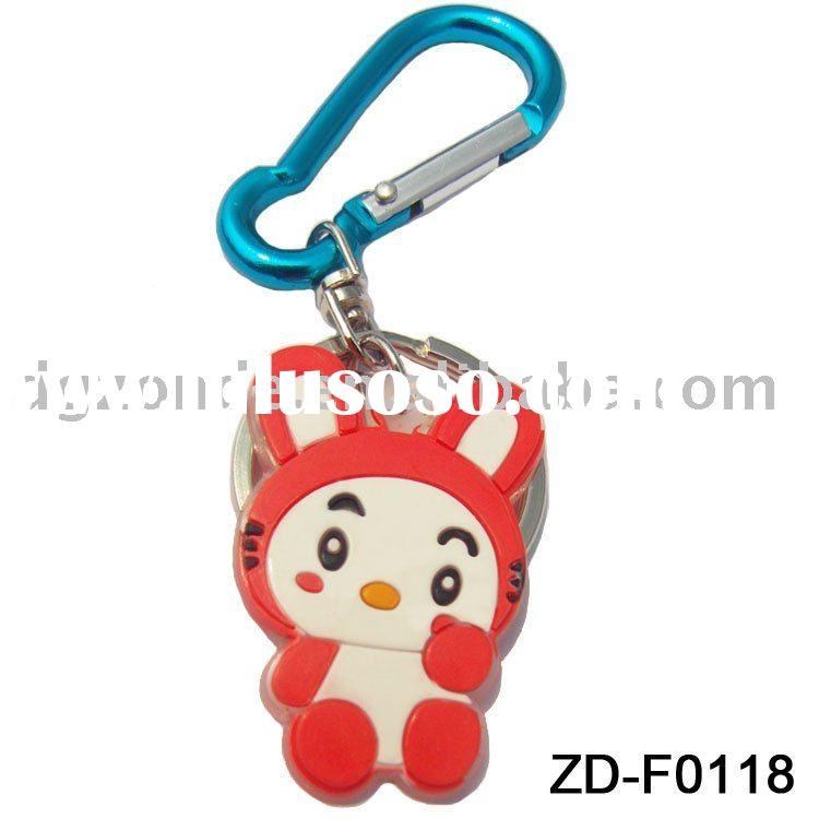 Promotional soft PVC keychain gift