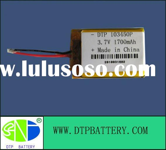 Rechargeable lithium battery,li polymer batteries,with protection PCB and Wire