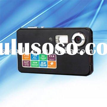 """SF-DCZ68 12MP CMOS 5 MP waterproof digital camera with 2.0"""" LCD"""