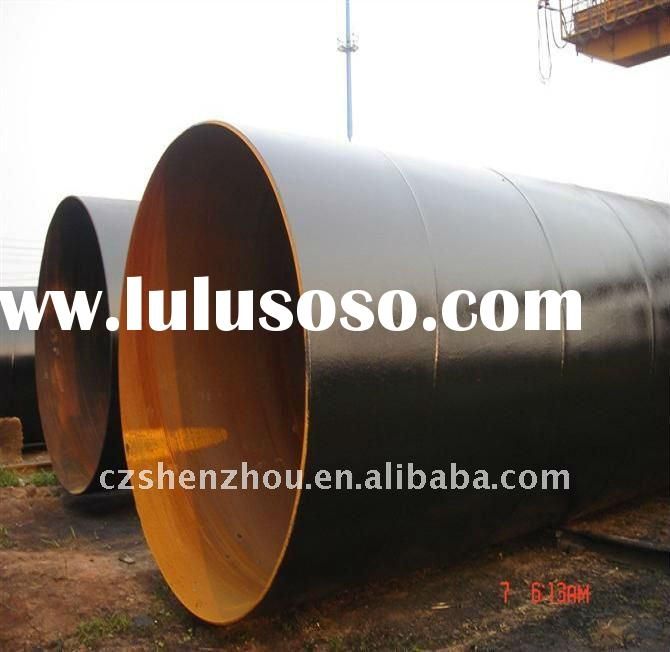 SSAW pipe /oil pipeline/sand blast/coating