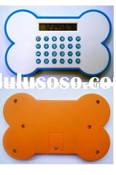 ST3041 pocket electronic novelty shaped calculator for school