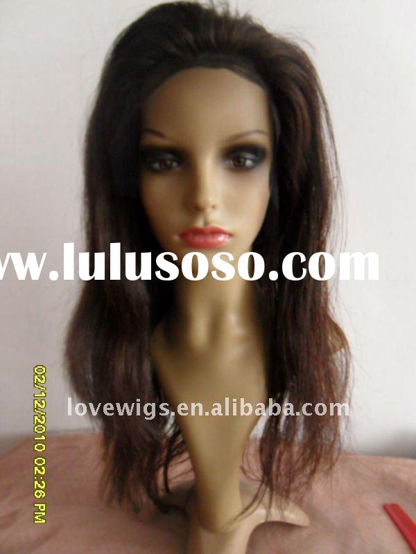 Silk top glueless full lace wig
