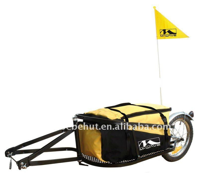 Single Wheel Bike Cargo Trailer and Bicycle Cargo Trailer with Travel Bag