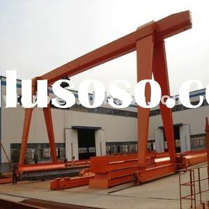 Single beam gantry type hoisting equipment