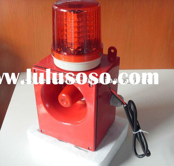 Siren and strobe light for cranes,overhead travelling cranes,gantry cranes,bridge cranes, harbors,me