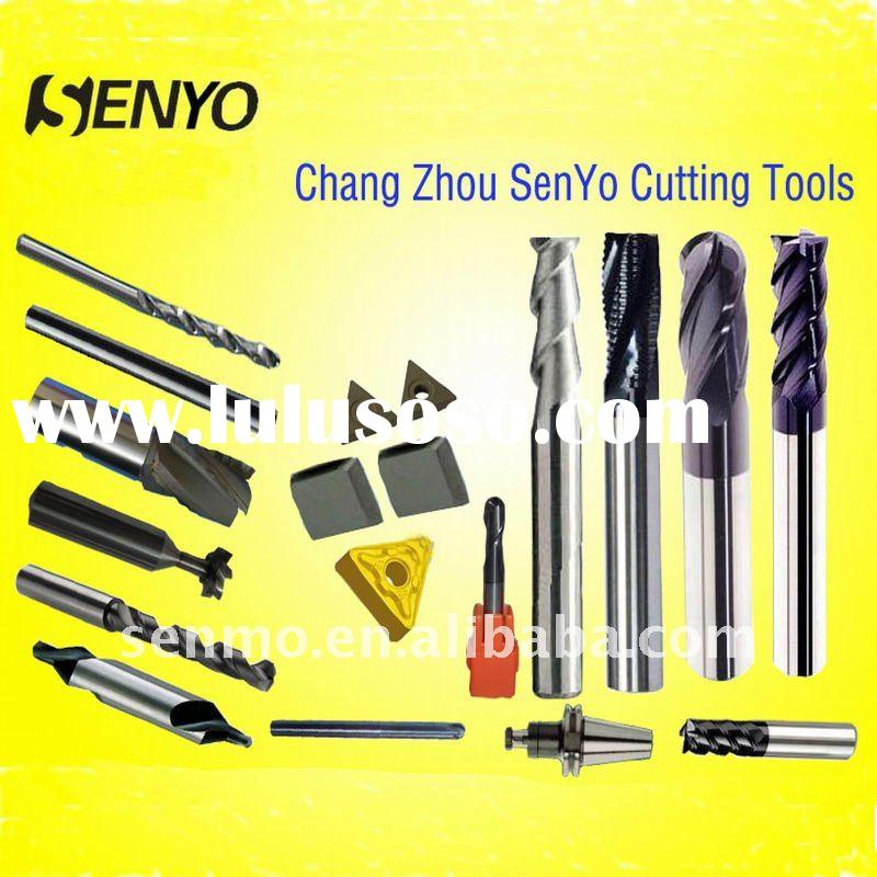 Solid Carbide Cutting Tools/ Tungsten Carbide end mills cutter/carbide milling cutters for CNC lathe