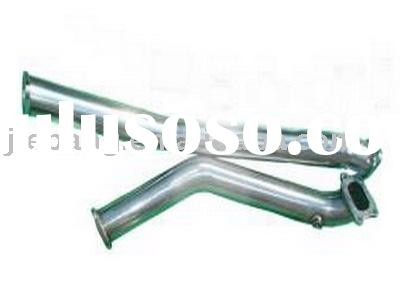 Stainless steel down pipe TOYOTA SUPRA 86-92